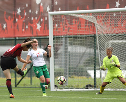 Womens U19s beat Bulgaria: 3-1